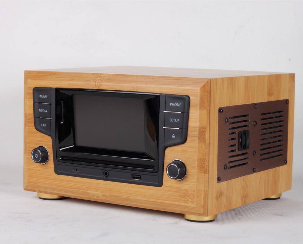 英国发烧蓝牙实木复古迷你音响HIFI高保真纯cd机带功放usb收音机