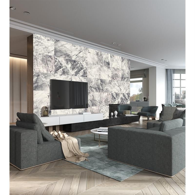 风格工业风 Loft 卷德国原装进口灰白仿大理石纹墙纸 5 玛撒 MASAR