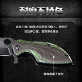 Portable Multifunction Portable outdoor high hardness sharp knife leaf keys keychain folding knife Express Mini