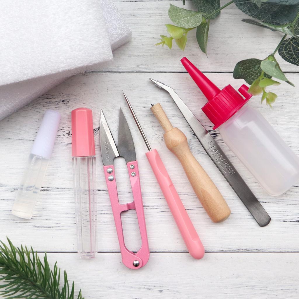 散装工具 戳针工作台 羊毛毡戳戳乐手工制作居家布艺diy动手工具