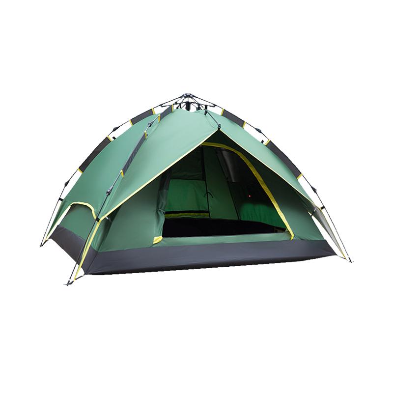 人露营防雨家庭野营全自动加厚二室一厅 4 3 人 2 帐篷户外 TAWA 德国