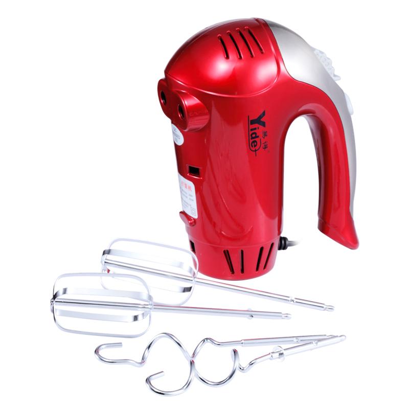 易得打蛋器家用电动手持大功率300W烘培打发奶油机奶昔和面搅拌器
