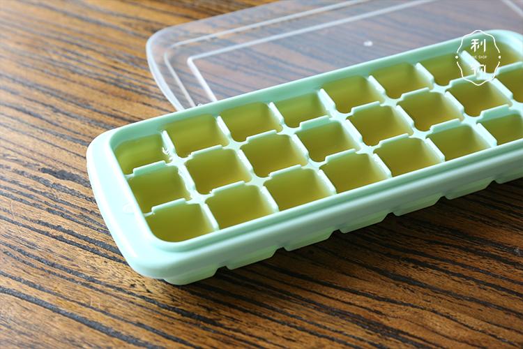 利物商店 矽膠冰格 出口日本帶蓋矽膠冰塊模具