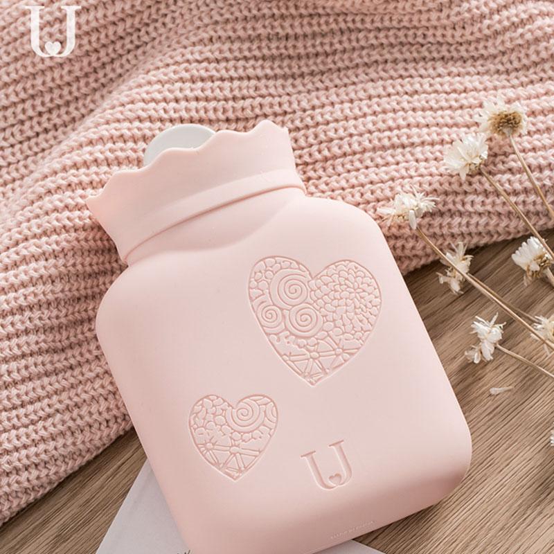 佐敦朱迪硅胶热水袋注水暖水袋女学生暖手宝宝可爱暖肚子随身小号