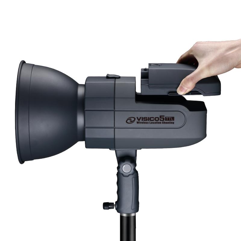 韦思V5闪光灯摄影灯高速同步人像外拍灯室外TTL锂电池便携手持灯