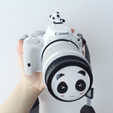Canon 100D 200D 1500D 700D 750D 760D SLR Camera 58mm Cartoon Panda Lens Cap