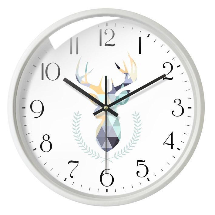 北欧挂钟 客厅钟表现代简约大气 个性创意时尚超静音卧室时钟家用主图