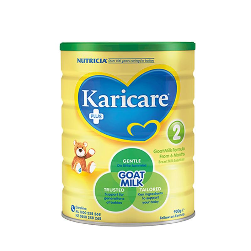 澳洲可瑞康羊奶粉2段新西兰原装进口婴儿宝宝婴幼儿可购3段 900g