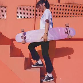 Locus新月长板专业板滑板,送喜欢玩滑板的朋友礼物
