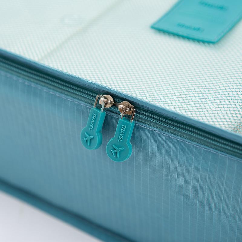 出差旅行收纳袋行李箱分装整理化妆包旅游洗漱包衣服打包便携套装
