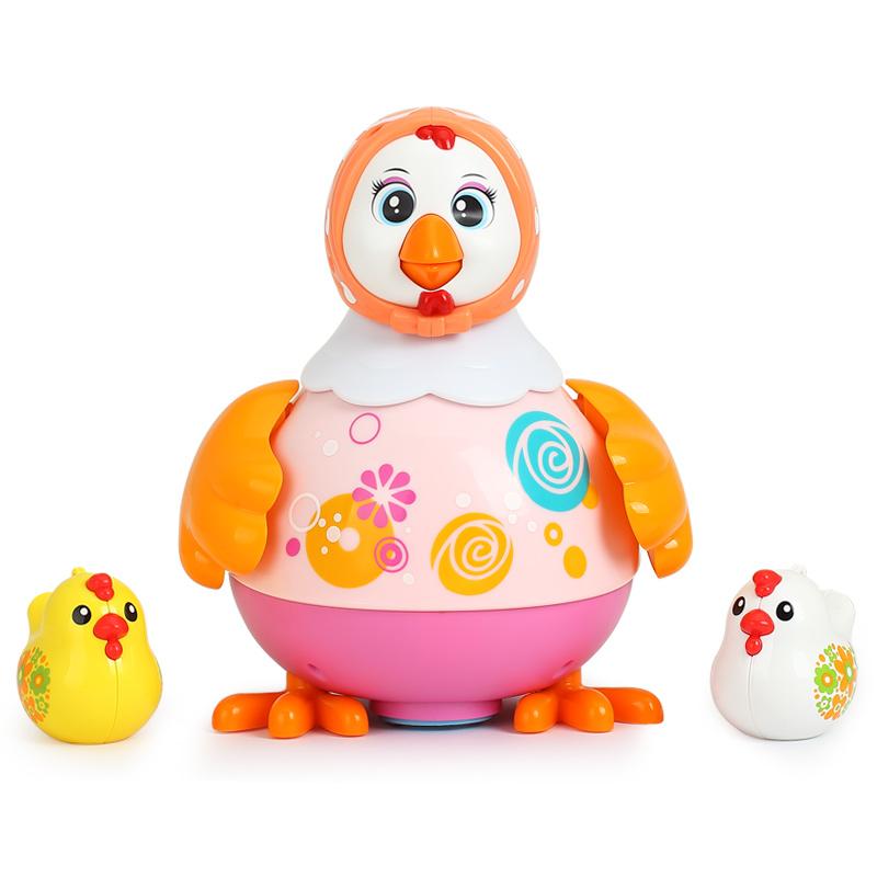 汇乐音乐跳舞鸡电动玩具智能会动的唱歌动物儿童幼儿宝宝摇摆母鸡