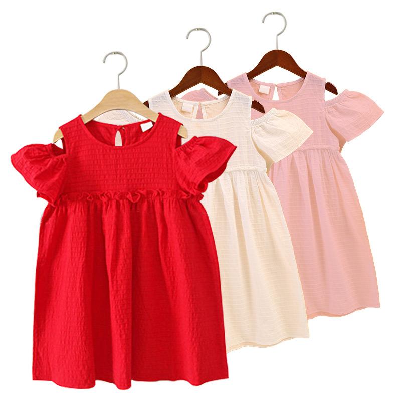 童装女童连衣裙夏装2018新款女孩衣服女大童韩版公主儿童洋气裙子