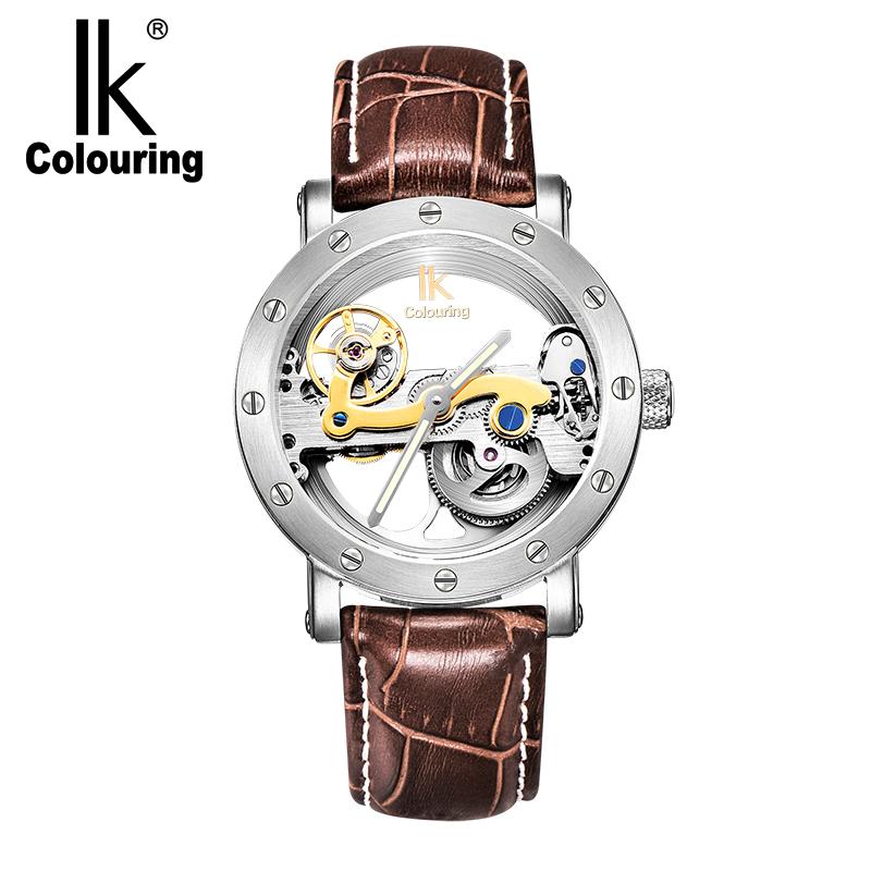 皮带 98393G 阿帕琦复古手表时尚潮流全自动男国产腕表 colouring IK