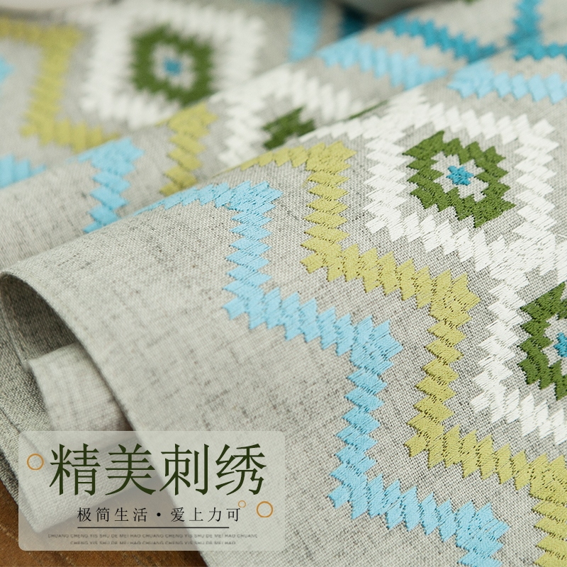 布艺桌布桌旗北欧欧式美式棉麻简约现代长方形电视柜茶几垫餐桌布