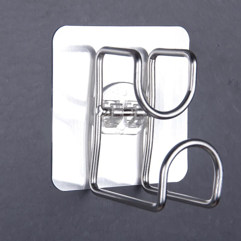洗脸盆收纳架卫生间置物强力吸盘放盆子壁挂钩浴盆粘钩挂架挂盆架
