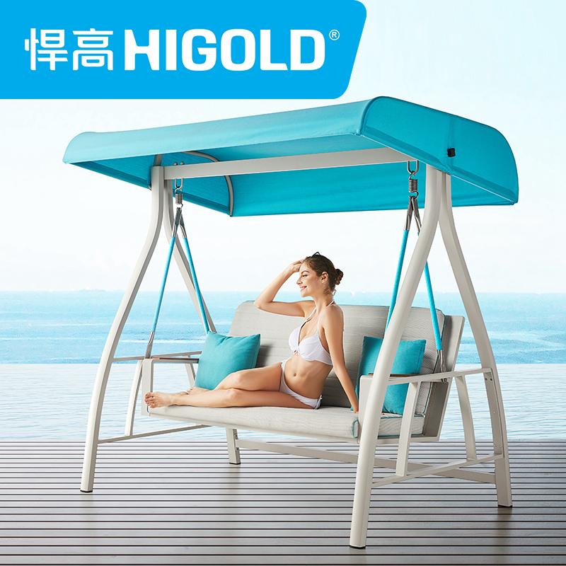 甄子丹代言HIGOLD/悍高 Nofi 诺菲户外阳台家具高端单双人转角沙发茶几组合