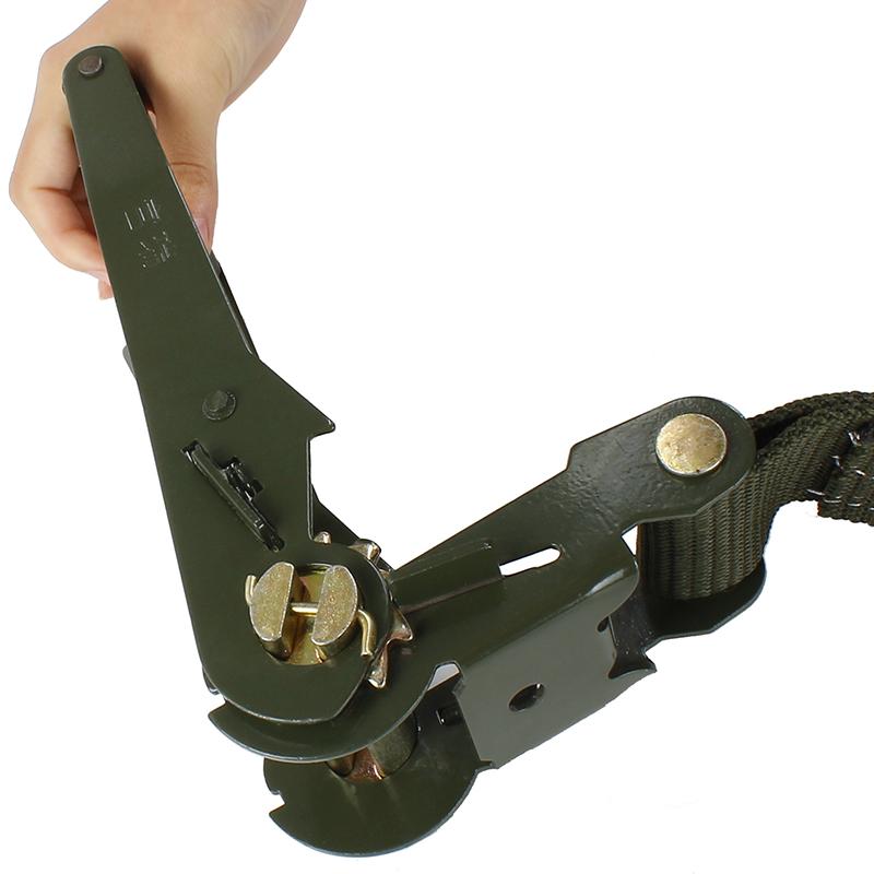 军绿色汽车货车捆绑带货物捆绑器收紧器绳紧固器拉紧器栓紧器