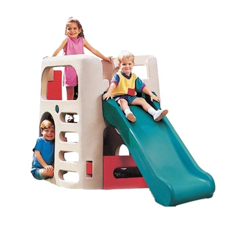 美国原装进口Step2儿童滑梯组合塑料室外大型游乐设备攀爬7205