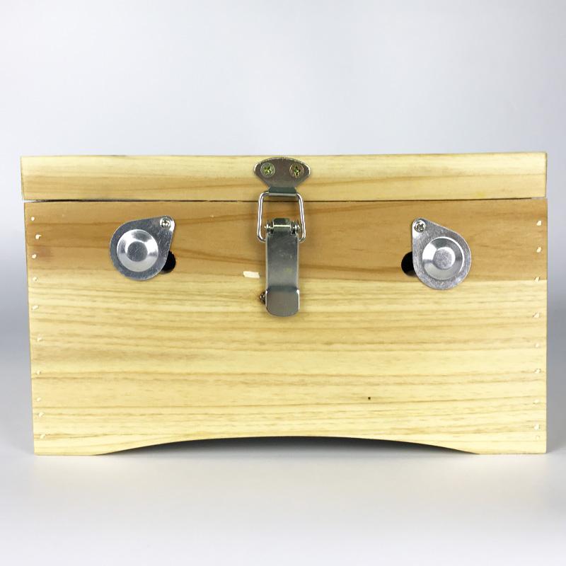 艾灸盒木制工具6针杉木艾灸箱随身暖宫腹部温灸家庭理疗仪器