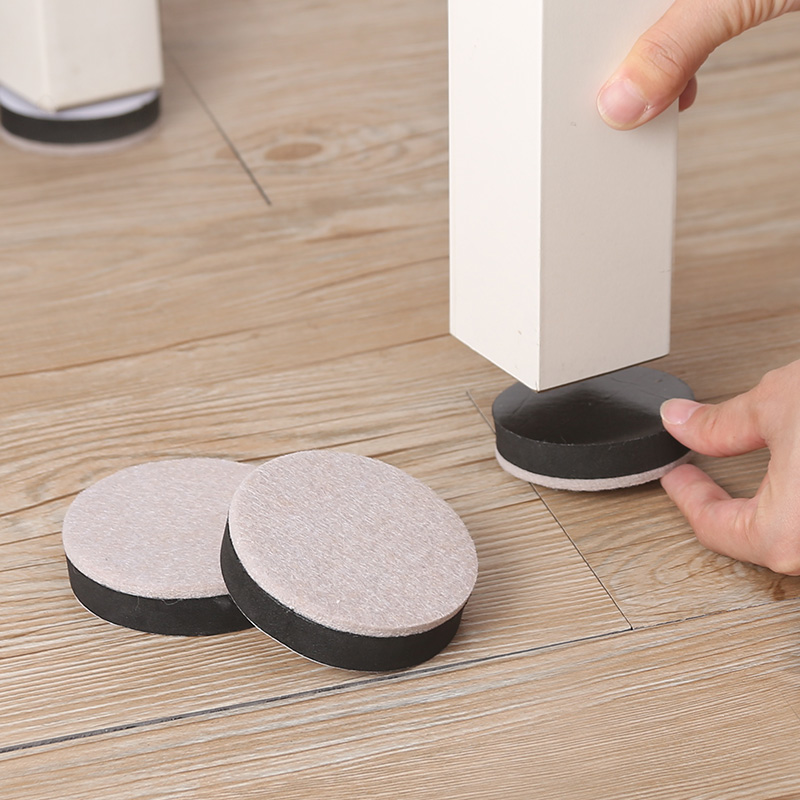 桌腳墊高加厚增高靜音耐磨傢具保護墊沙發腳墊防刮花地板桌椅腳墊