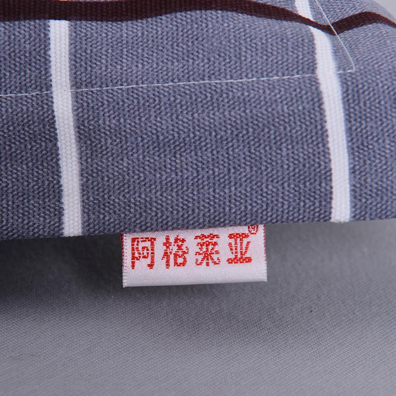 纯棉老粗布枕套一对装48x74全棉100%成人大号单人枕头套包邮