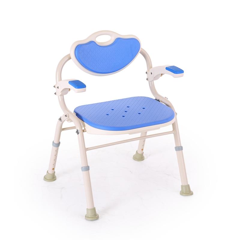 立德稳日本洗澡椅折叠铝合金宝宝儿童老年人洗澡凳浴室淋浴椅