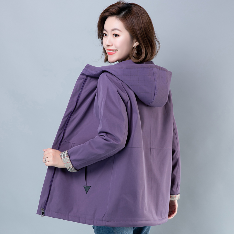 2020新款妈妈冬装洋气外套高贵中老年女装加绒棉衣服加厚棉袄50岁