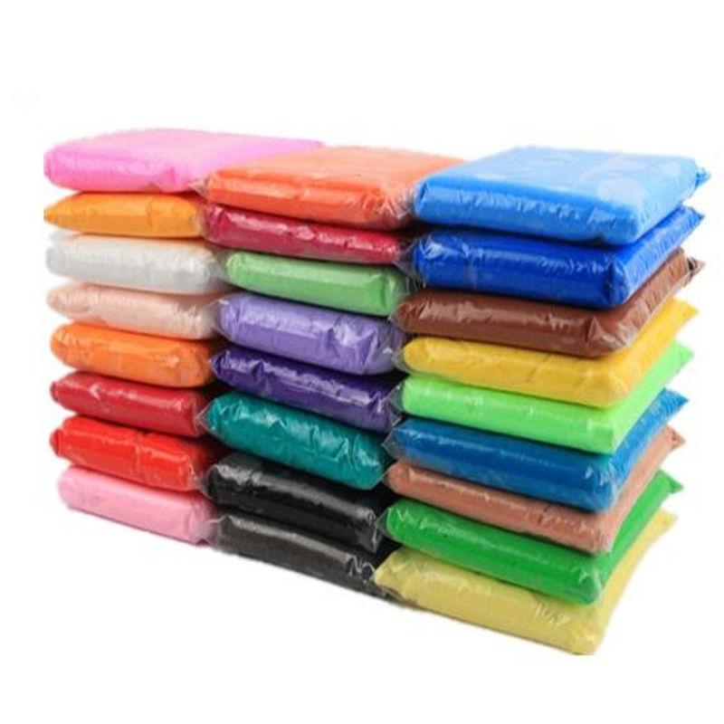 超轻粘土36色500g无毒橡皮泥彩泥黏土太空手工泥儿童500克大包装