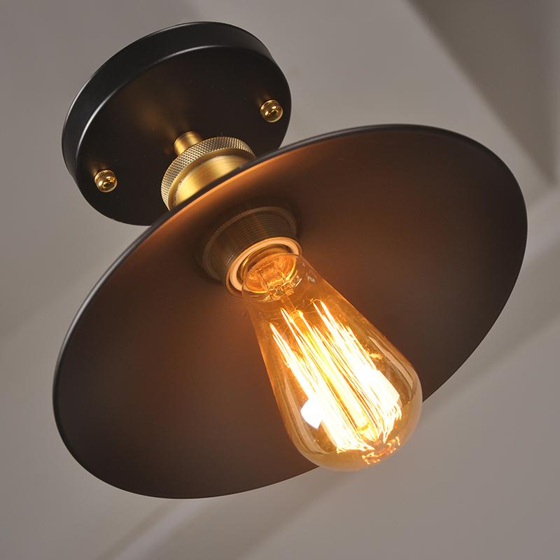 工业复古创意走廊灯书房过道灯玄关灯 LOFT 美式乡村阳台灯吸顶灯