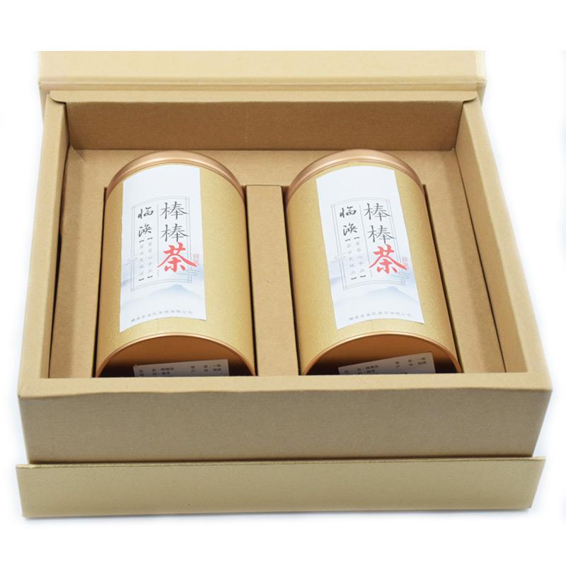 包邮临涣棒棒茶2罐新式礼盒装安徽茗茶淮北特产红茶新茶解渴暖胃