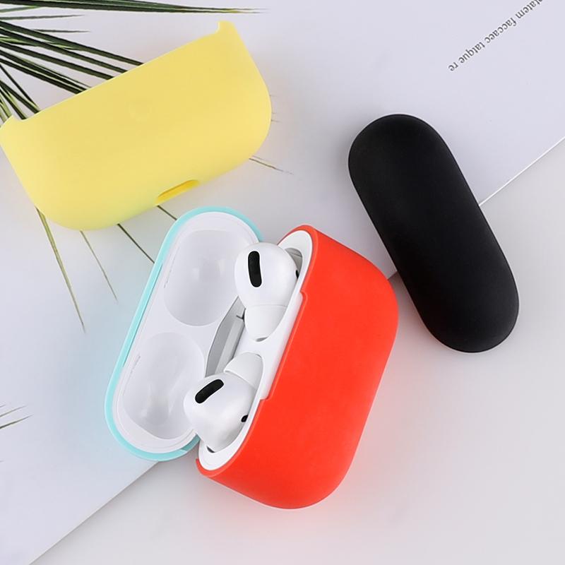 airPods Pro保护套苹果airPodsPro3代无线耳机硅胶套airpods3液态超薄简约降噪豆收纳入耳式耳塞套