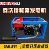 Ling fertile intelligent frequency petrol - electric motor tricycle 48V60V72 extender mounted DC generator for Free
