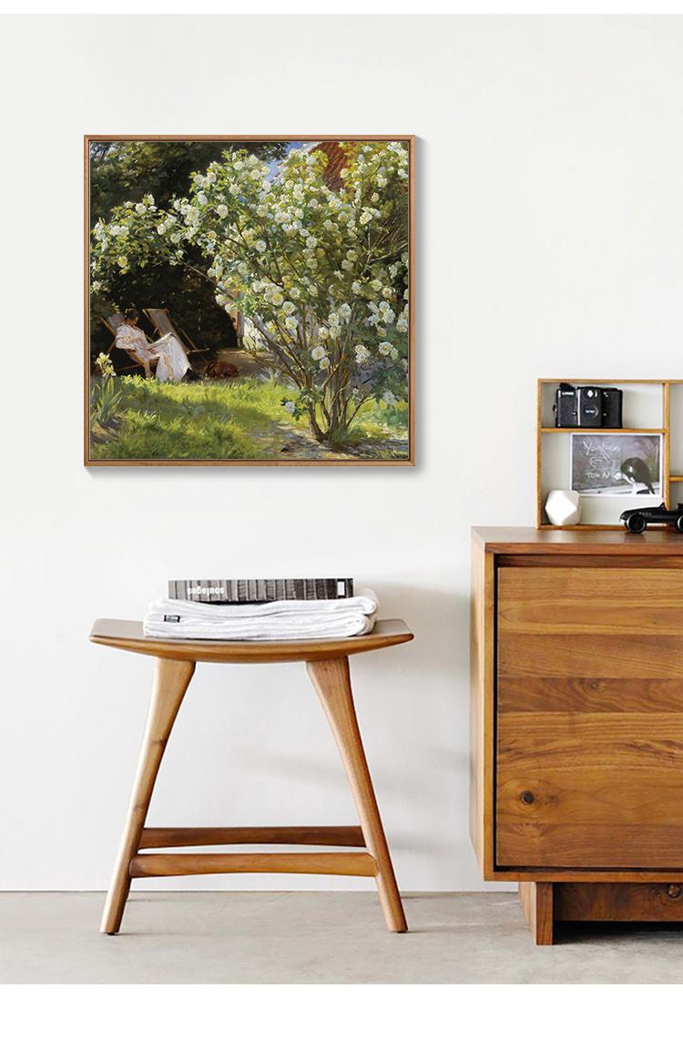 撿漏a斷碼特價北歐裝飾畫客廳餐廳臥室簡約現代掛畫莫奈梵高油畫