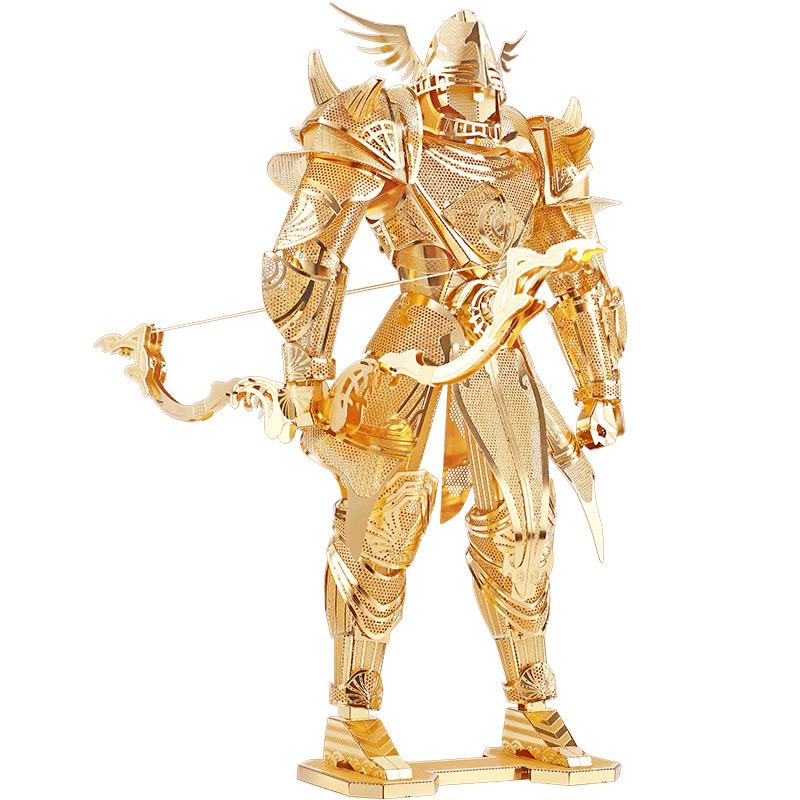 拼酷3D立体金属拼装凌弓骑士模型diy手工成人创意益智玩具礼物