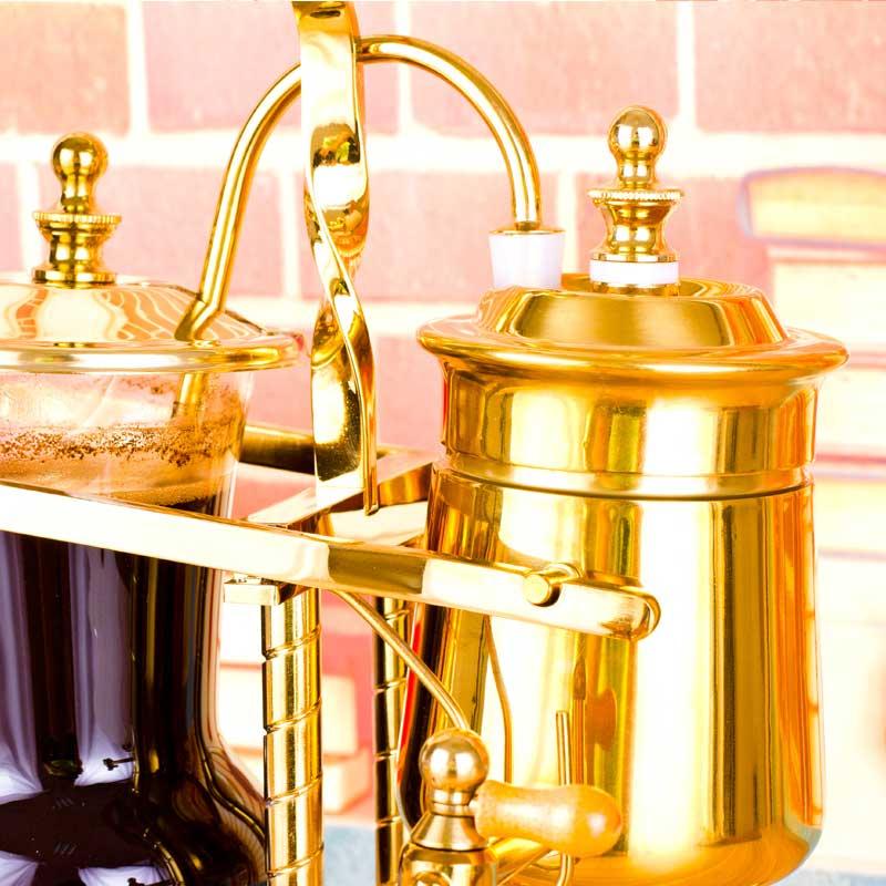啡忆 皇家比利时咖啡壶 家用比利时壶 虹吸式煮咖啡机套装礼盒装