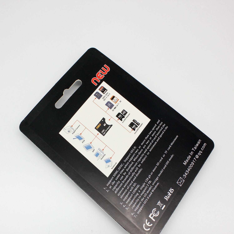 八鹰 SD转CF卡套 支持无线WIFI SD 2TB相机卡 TYPE I薄卡