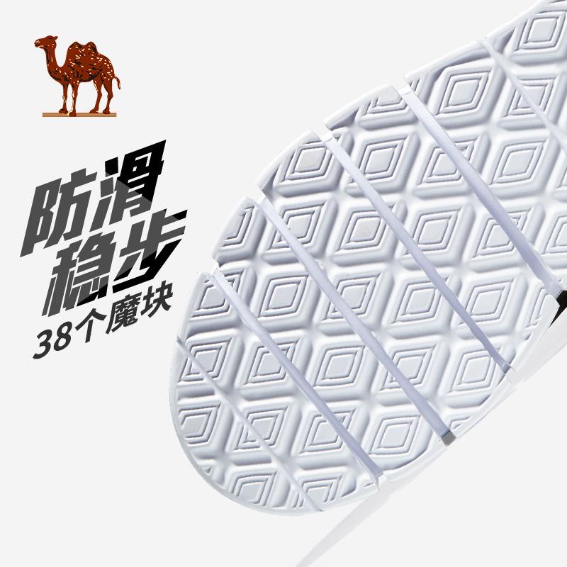 年新款时尚学生休闲男鞋子透气超轻跑鞋 2019 跑步鞋 骆驼运动鞋男
