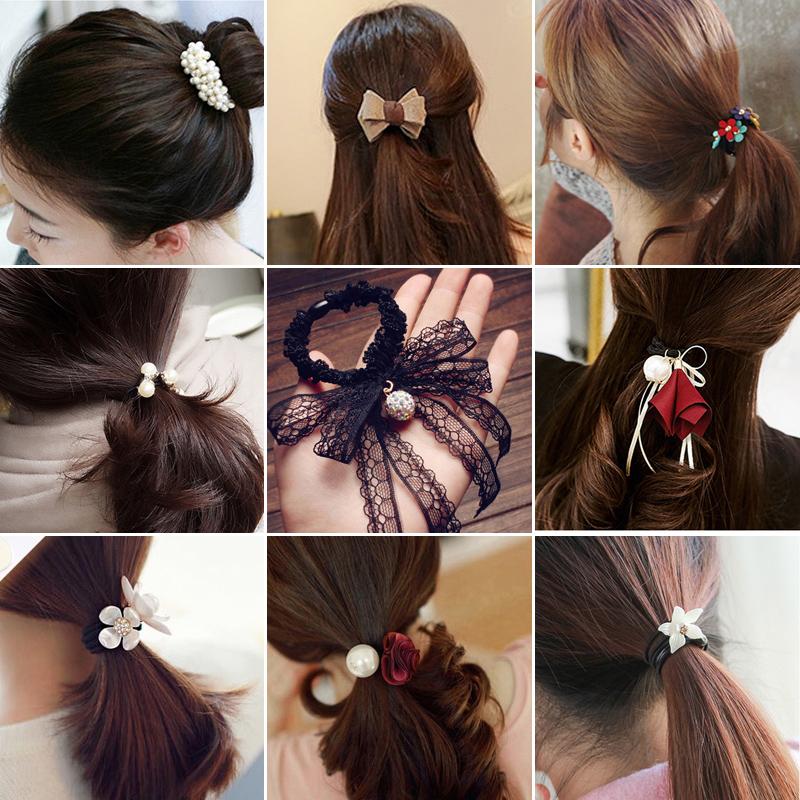 韩国饰品发饰发圈成人头绳扎头发皮筋发绳头饰女发箍皮套发夹发卡