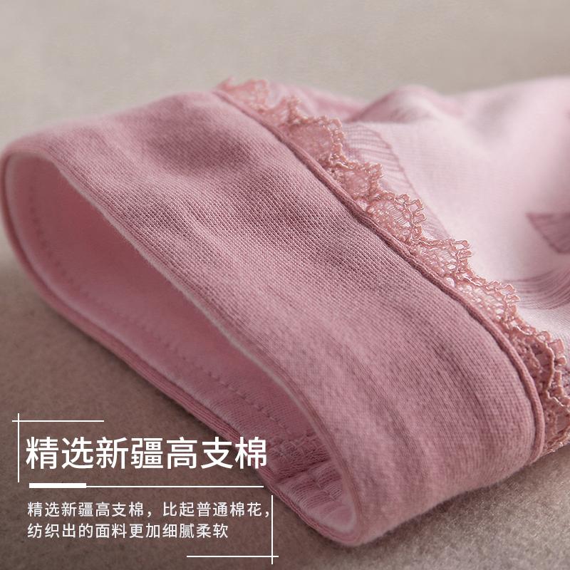 睡衣女士春秋季纯棉长袖家居服秋天薄款全棉中年妈妈中老年人套装