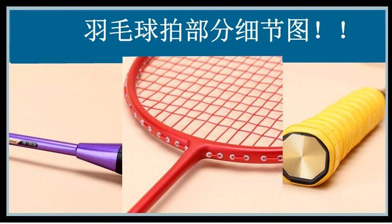 天猫羽毛球拍正品全碳素单拍支超轻4u5u省队训练拍初学ymqp男女用
