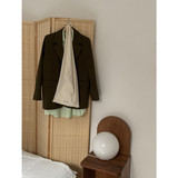 Sleep at 11 ins suit jacket female Korean loose retro chic British style leisure suit tide