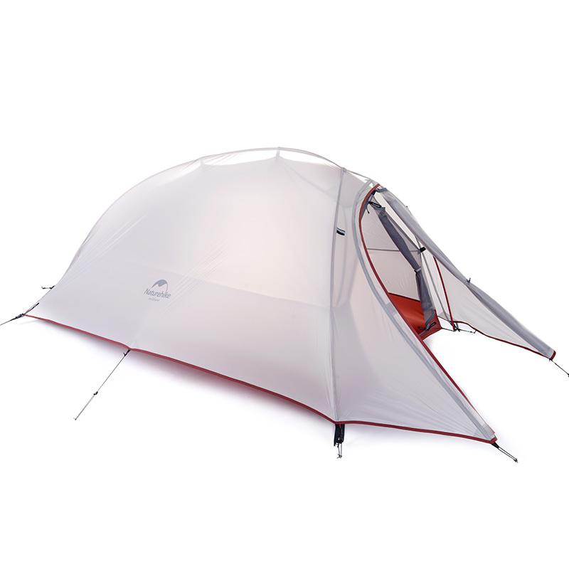 人野外露营野营帐篷 4 3 人帐篷户外 2 硅胶超轻单双人 20D 云尚 挪客 NH