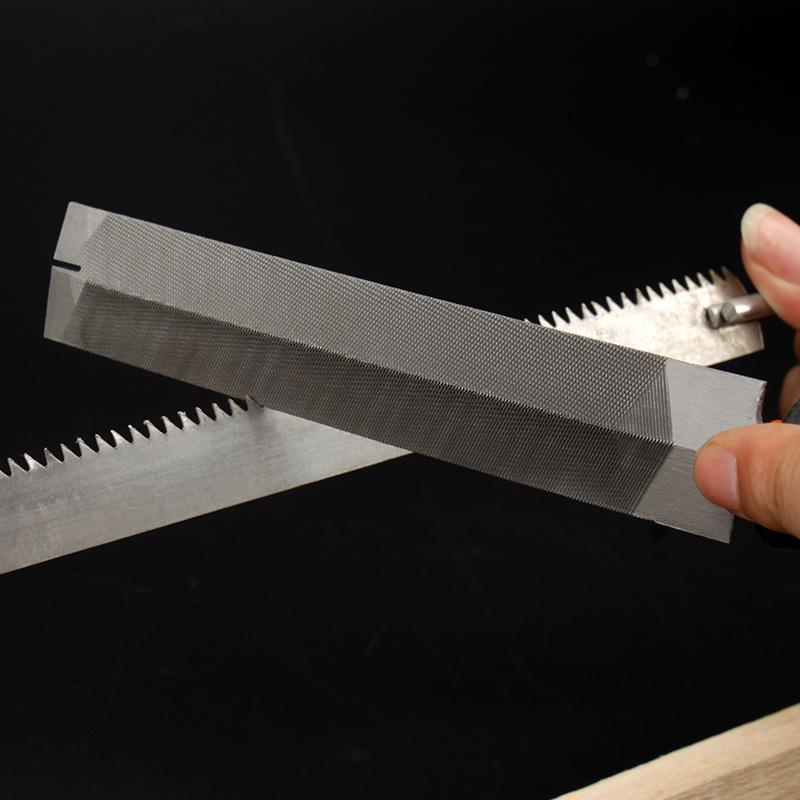 美科菱形锉刀 锯锉木工细齿钢锉打磨工具 什锦锉 整形锉 棱形锉