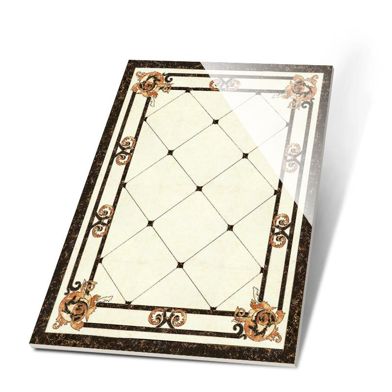 地砖拼花瓷砖地毯砖客厅瓷砖玄关水刀抛晶砖欧式过道拼图地板砖