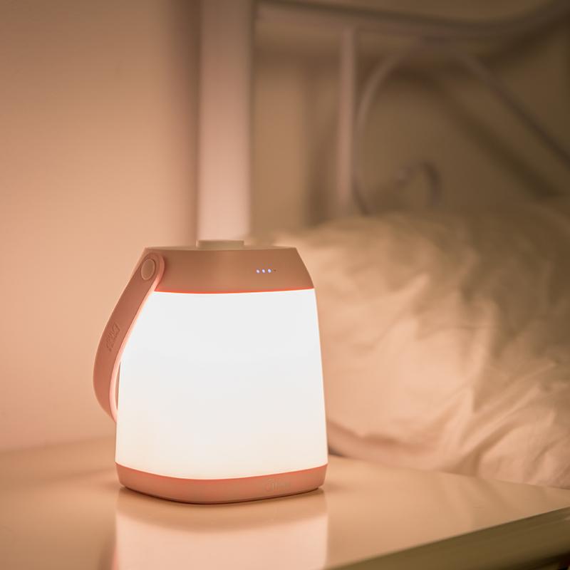 小夜灯婴儿可移动充电式卧室床头喂奶便携台灯不插电 led 手提 美