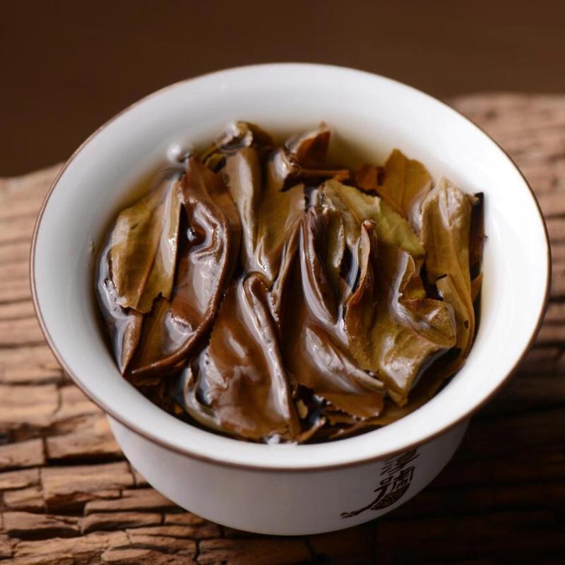 年班章大白菜有机茶茶叶云南特级干仓生茶陈年大叶种普洱生茶 2003