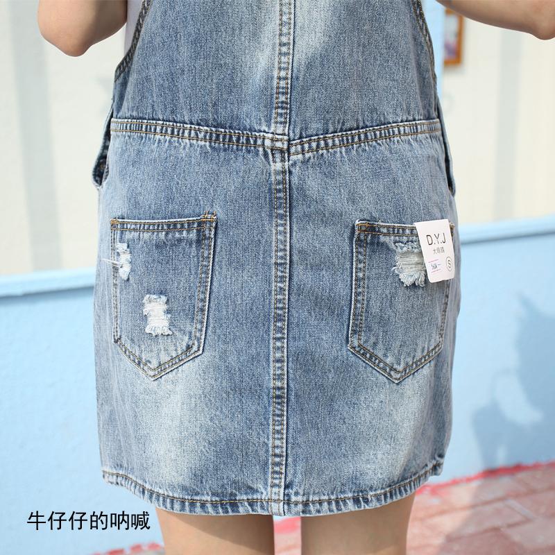 亲子装夏装套装吊带母女装牛仔背带裙连衣裙韩版两件套2019新款潮