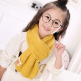 Autumn and winter children's scarf long knitted wool baby neck warm girl Korean version of the boy and child tide small and small