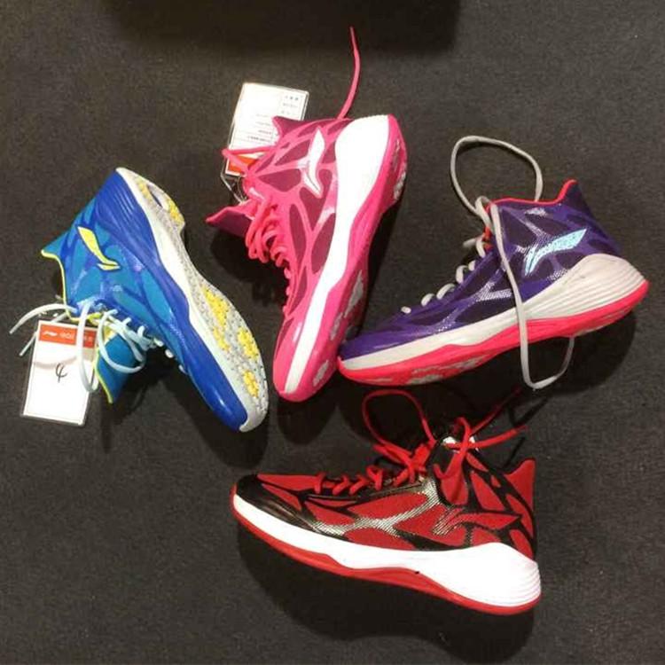 李寧正品高幫籃球鞋夏季透氣外場實戰耐磨音速4簡版TD