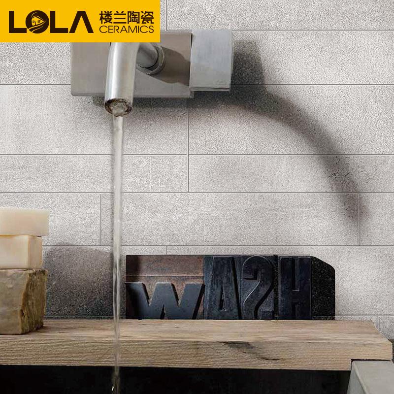楼兰瓷砖 800X800客厅地砖仿古砖卫生间地板砖阳台水泥砖 50度灰